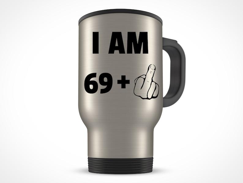 70th Birthday Gift For Women Men Travel Mug