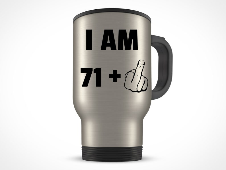 72nd Birthday Gift For Women Men Travel Mug
