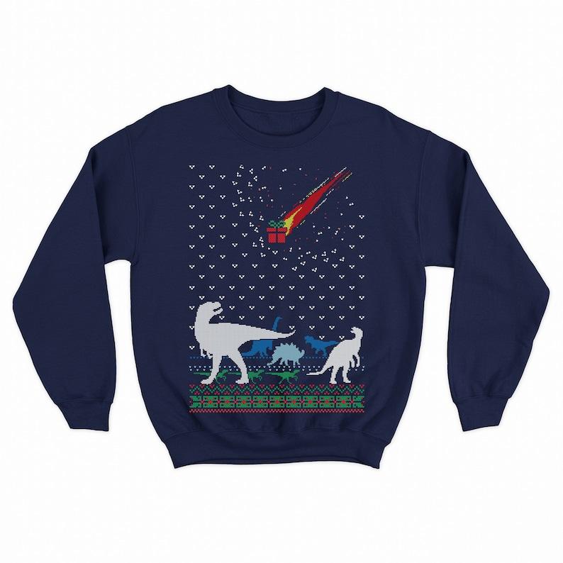 bcbb97f0e Funny t-rex sweater for women and men dinosaur Extinction