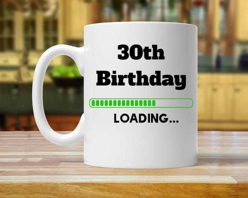 30th Birthday Mug Party Gift