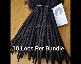 Dreadlock Extensions Handmade 100% Human Hair