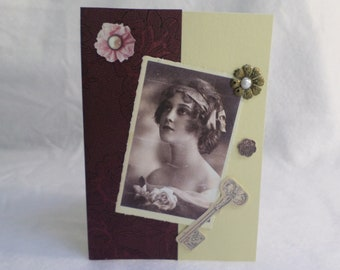 Any occasion vintage photo card