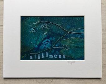 """Inspirational Botanical Art: """"Stillness"""""""
