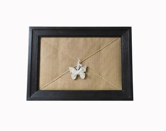 Vintage hand made Butterfly 2 frame