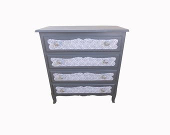 Dresser redesigned four lace