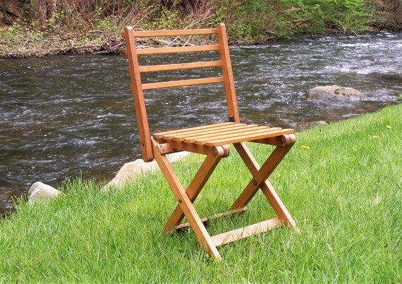Super Vintage Folding Wood Camp Stool 281 Bralicious Painted Fabric Chair Ideas Braliciousco