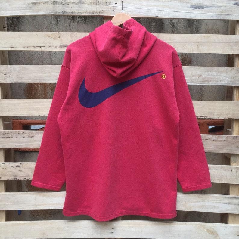5aa77ddc9c1fb7 Vintage 90s Nike Swoosh Hoodies Pullover Nike Sweatshirt