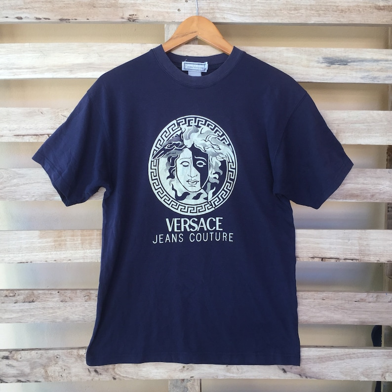 Rare Vintage Versace T-shirt Versace Jeans Couture Men s  9da433571d9f