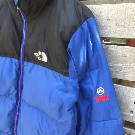 Black north Jacket series 1990s Blue Jacket Small Face S Puffer Rare 700 Vintage The Summit Color Size Men's Vintage face The Sweater North q8aPp
