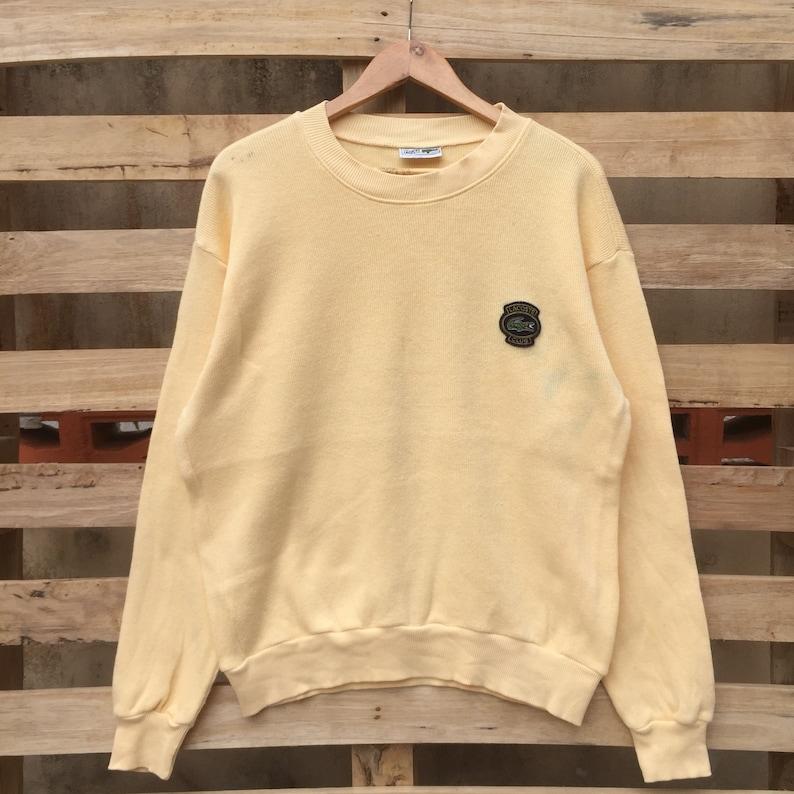 eff2ca8fb7c1 Vintage 90s Chemise Lacoste Sweatshirt Vintage Men s