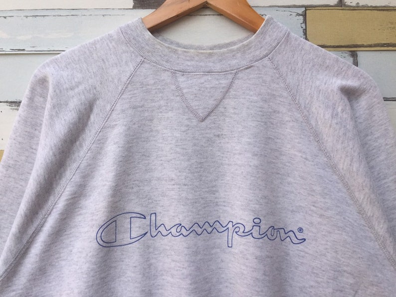 85d60fa2 Vintage 90s Champion Sweatshirt Large Size Champion Pullover   Etsy
