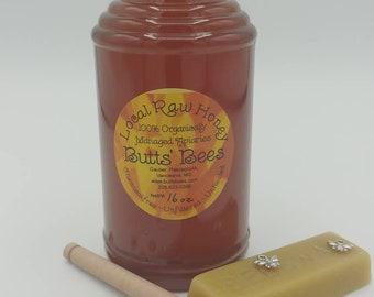 Honey ~ Wildflower 16oz Raw Mississippi Honey ~Unfiltered Pure Honey