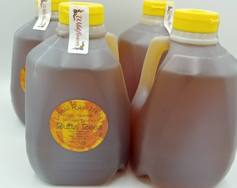 Raw Pure Honey 3 pounds- Fresh and From Eco Farm - Unprocessed - Vegetarian Wildflower Honey