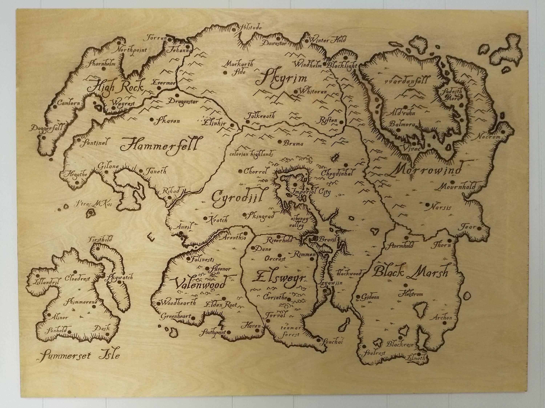 Tamriel Map Elder Scrolls Wood Engraving Art - Skyrim, Morrowind on full dragonborn map, raven rock location map, full borderlands 2 map, dungeons and dragons 3.5 map, full map of game of thrones, full red dead redemption map, full minecraft map, elder scrolls 5 map, full world map, full zelda map, full map guild wars 2, elder scrolls world map, full wow map, full pokemon map, full elder scrolls map, full star wars map, morrowind full map, saints row the third full map, full tamriel map, full terraria map,