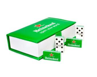 Heineken Beer Domino 100% Acrylic, Faux Leather Case