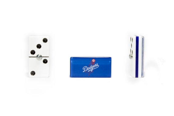 Faux Leather Case Los Angeles Dodgers Domino 100/% Acrylic