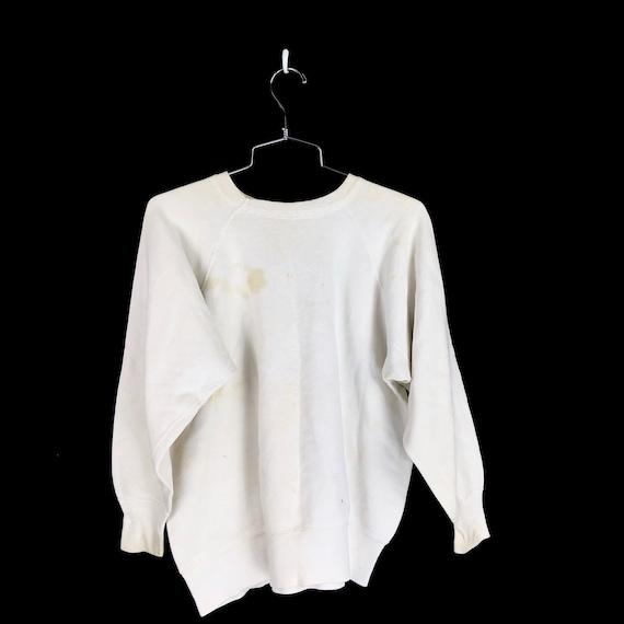 Vintage 1950s Los Nietos Braves Sweatshirt Size M… - image 2