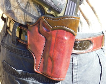 The Ranch Ranger - Outside the Waistband Leather Holster