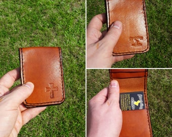 Christian Cross - 4-Slot Minimalist Wallet