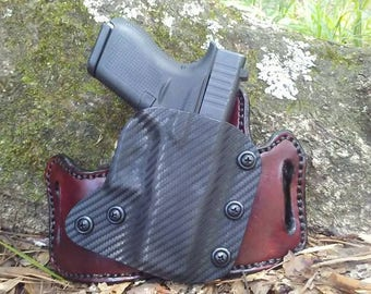 Outside the Waist Band Leather/Kydex Hybrid Holster