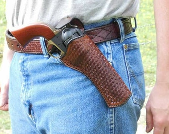 Cross Draw Western Holster
