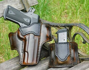 The Maker's Choice - Outside the Waist Band Leather Holster