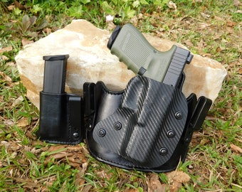 Inside the Waist Band Leather/Kydex Hybrid Holster