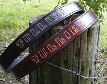 2-Ply Handmade Gun Belts - Gun Belt
