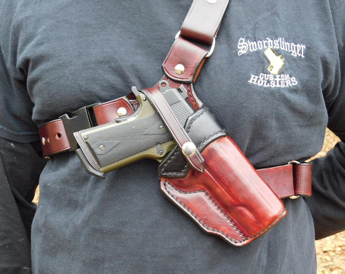 Featured listing image: The Huntsman - Alaska Style Chest Holster