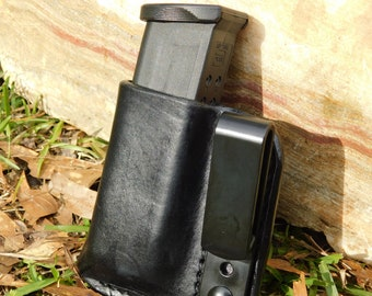 Leather IWB Mag Carrier