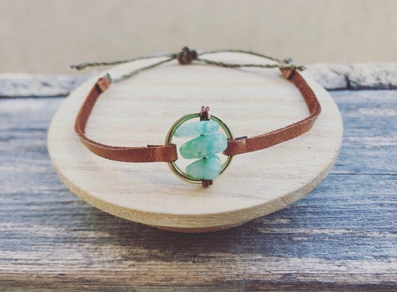 Love Leather Adjustable Bracelet