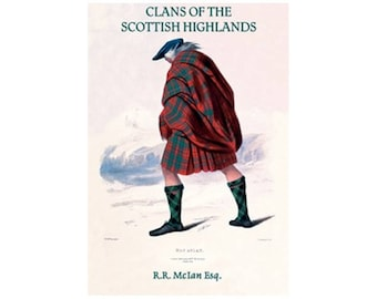 Canvas Art Print - Clans Of The scottish Highlands ( R.R. McIan )