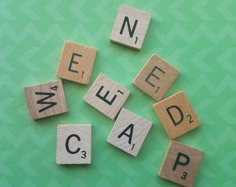 Scrabble Tiles- Small Assortment