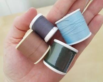 Earth Tone Polyester Thread Destash