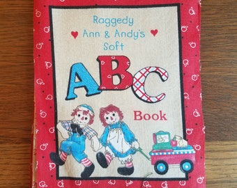 Raggedy Ann & Andy ABC Fabric Pieces