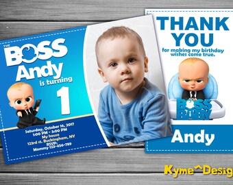 Boss Baby Invitation, Boss Baby Birthday, Boss Baby Party, Boss Baby Invites, Boss Baby Printables, Boss Baby Printable Invite, Boss Baby
