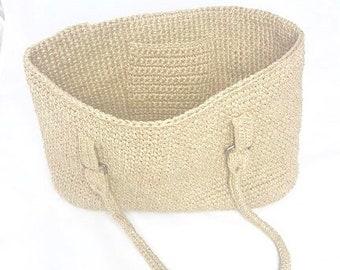 Linen string bag