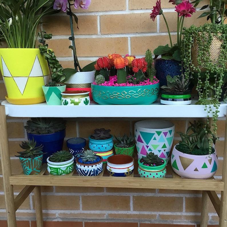 Planters Succulent Bowl- Pot Plant Nautical Decor Succulent Planter Pot- Anchor