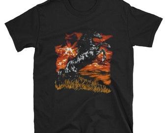 d08f8b54 Black stallion Short-Sleeve Unisex T-Shirt
