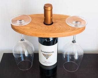 Maple Wine Caddy