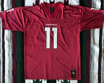 Reebok NFL Arizona Cardinals Larry Fitzgerald Football Jersey Size XL ad7f732ec
