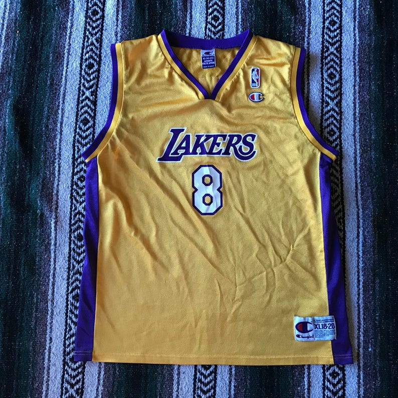 b0b7f1a9f Champion NBA Los Angeles Lakers Kobe Bryant 8 Basketball