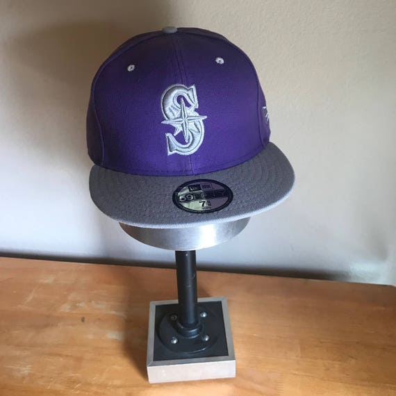 finest selection 9b212 63e81 Seattle Mariners Rare Purple New Era 59FIFTY DEADSTOCK Fitted   Etsy