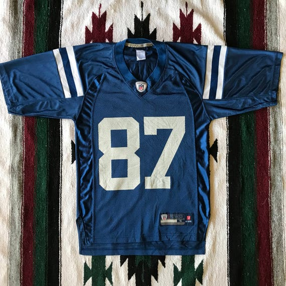 best sneakers b77cb 05214 Reebok NFL Indianapolis Colts Reggie Wayne Football Jersey Size S