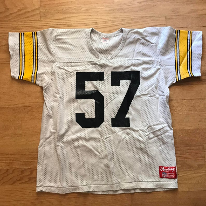 cc54a57706a 1990s Vintage Jerrol Williams 57 Pittsburgh Steelers NFL | Etsy