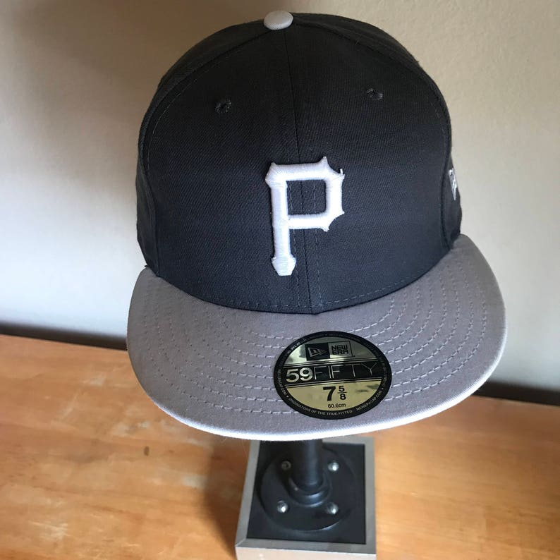 48fef0b698551 Pittsburgh Pirates Black Grey New Era 59FIFTY DEADSTOCK Fitted | Etsy