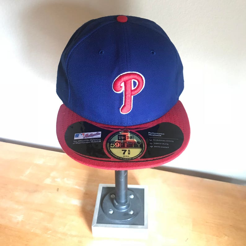 the best attitude ebbc1 f699c Philadelphia Phillies New Era 59FIFTY DEADSTOCK Fitted   Etsy
