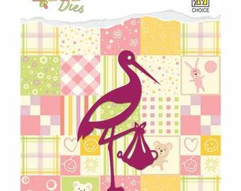 "1 ""Stork"" - 4.2 x 7cm - DDD001 Die"