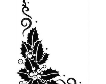 Embossing angle Holly 10.6 x 15 cm_HSFC004 workbook