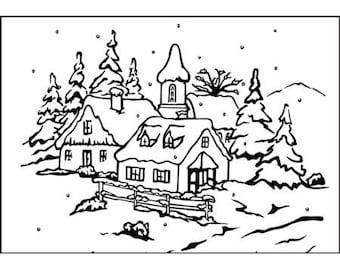 Embossing Christmas 5 10.6 x 15 cm_PIF014 workbook